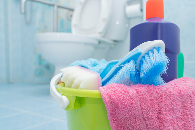 Spring Cleaning Simplified - Bathroom Edition