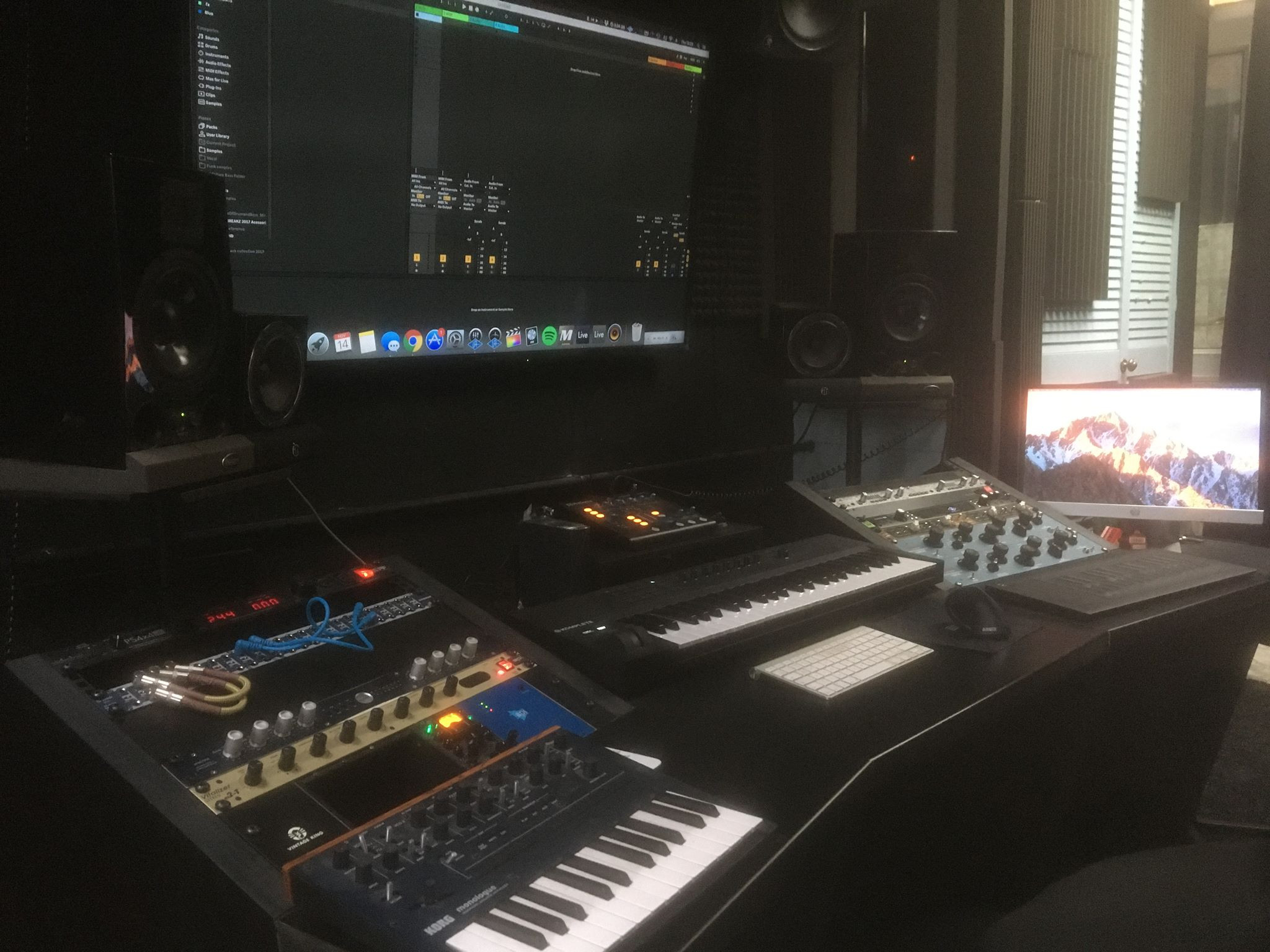 Electronic music production tuition