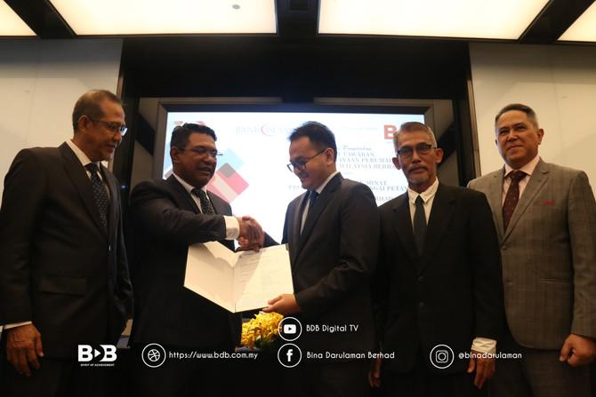KOTA MAS Serah Surat Tunjuk Minat(Lol) Produk Perumahan BDB Land Sdn. Bhd. Kepada Kumpulan BDB