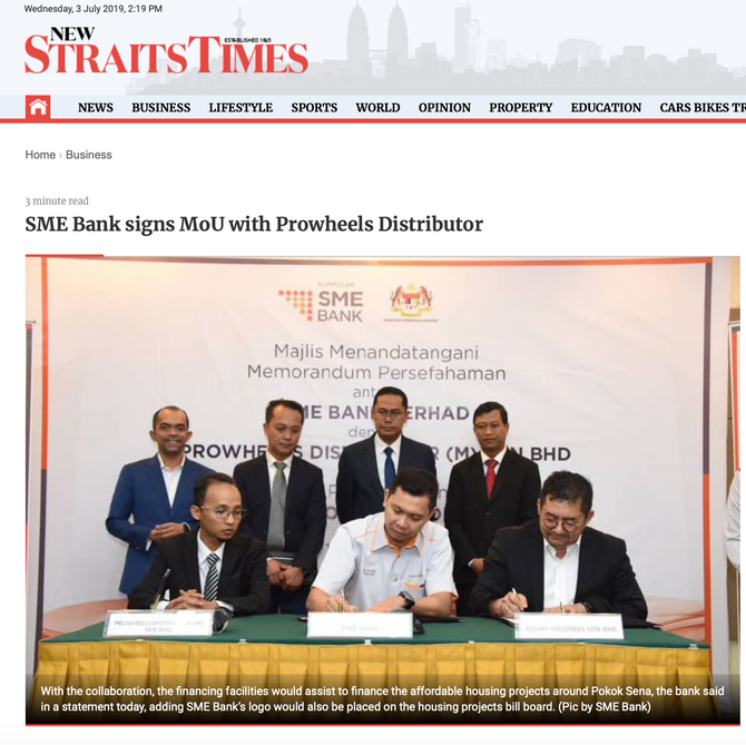 New Straits Times | 1 July 2019