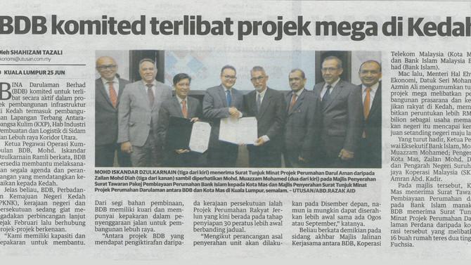 Utusan Malaysia | 26 Jun 2019