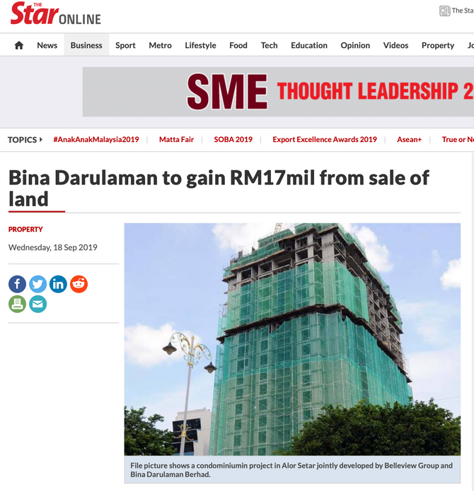 The Star Online | 18 September 2019