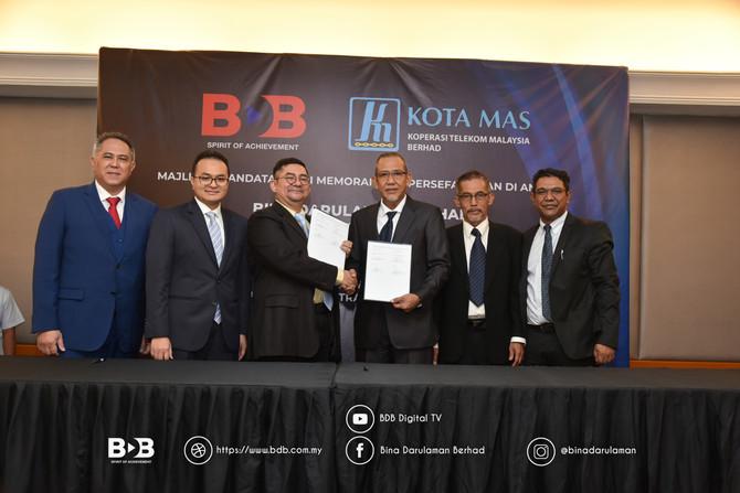 BDB Jalin Kerjasama Dengan Koperasi Telekom Malaysia Berhad (KOTA MAS