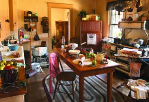 Grandma's kitchen, styled by Reminisce Magazine