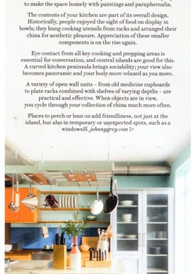 House & Garden editorial on Clever kitchens