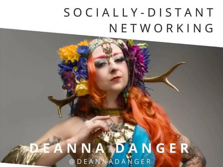 Socially Distant Networking LIVESTREAM Video Interview
