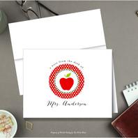 Note Card Apple and Polka Dots.jpg