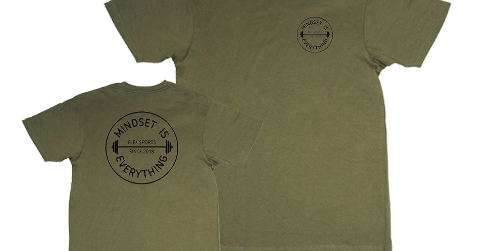 MINDSET Tee - Military Green