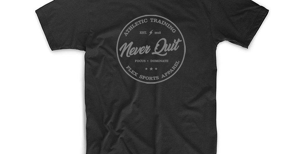 Never Quit Tee - Black