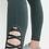 Thumbnail: Lattice Strap Leggings - Green