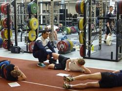 Gym Session at Loughborough