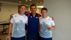 Celebrating Rio Success