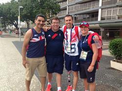 Paratri Team in Rio