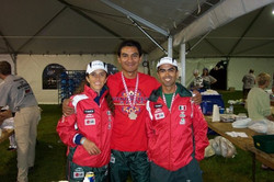 Proud finishers at IM Canada