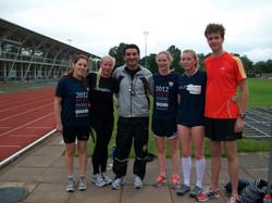 Running Practice Lboro Tri Club