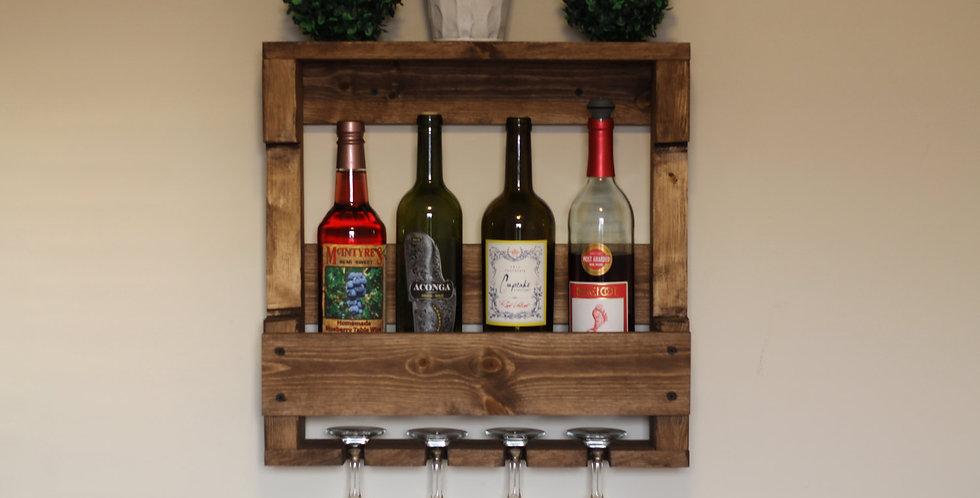 Kontula Masif Ahşap Şaraplık | Kısa