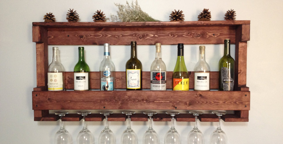 Kontula Masif Ahşap Şaraplık | Uzun