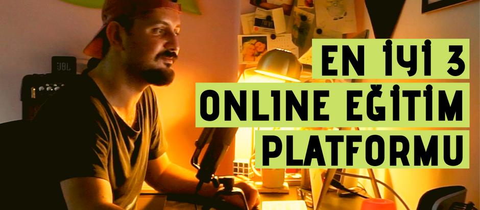 En İyi 3 Online Eğitim Platformu