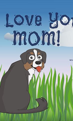 I Love You, (mom/dad) Dog Custom Book