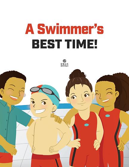 Swimmer Custom Book