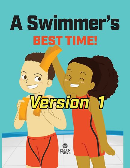 Competitive Swimmer Customized Book