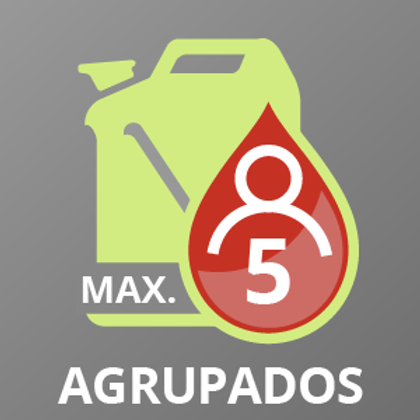 Gasoil B hasta 5 AGRUPADOS +2.500 a +3.500 lts.