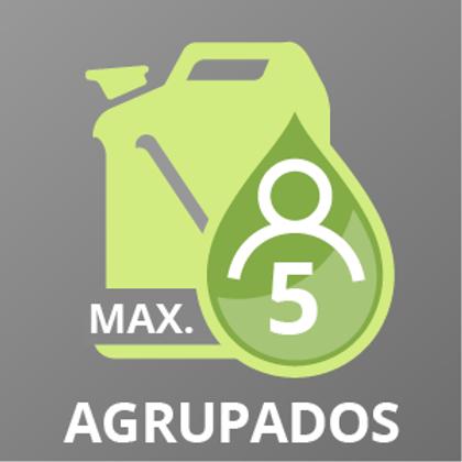 Gasóleo C hasta 5 AGRUPADOS +2.500 a +3.500 lts.