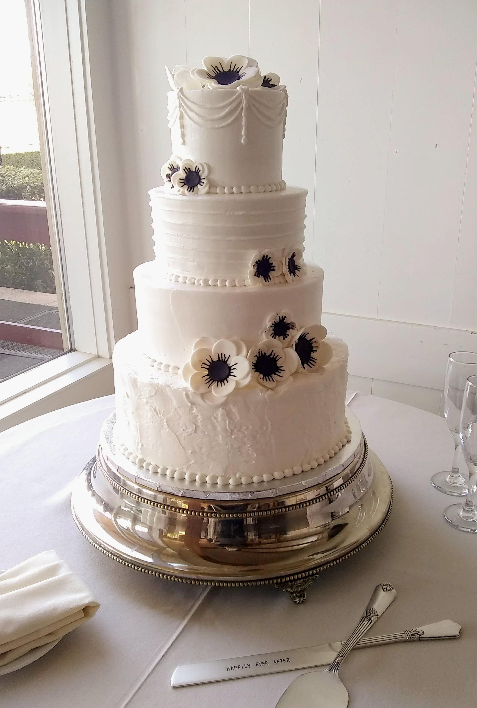 Wedding Cake Bakery Santa Rosa Ca Michele S Corner Wedding Cakes