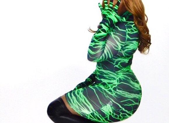 Lasers Mini Dress