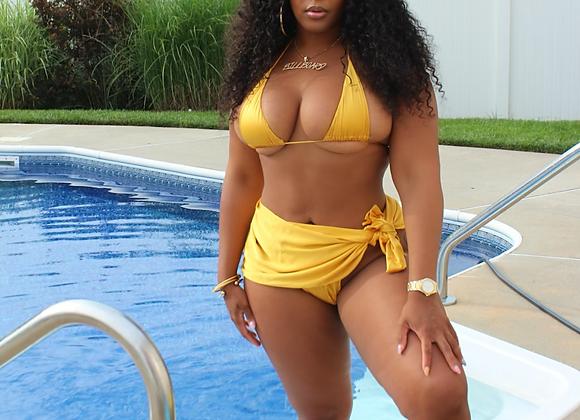 Exotica 3 Piece Swimsuit (Yellow)