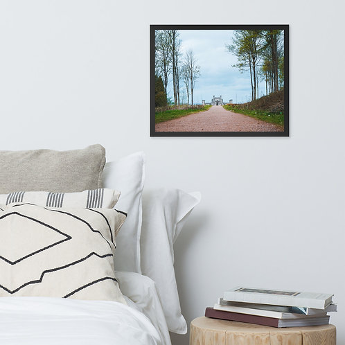 Lowther Castle Framed Print