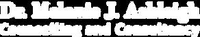 Dr Melanie J Ashleigh Logo