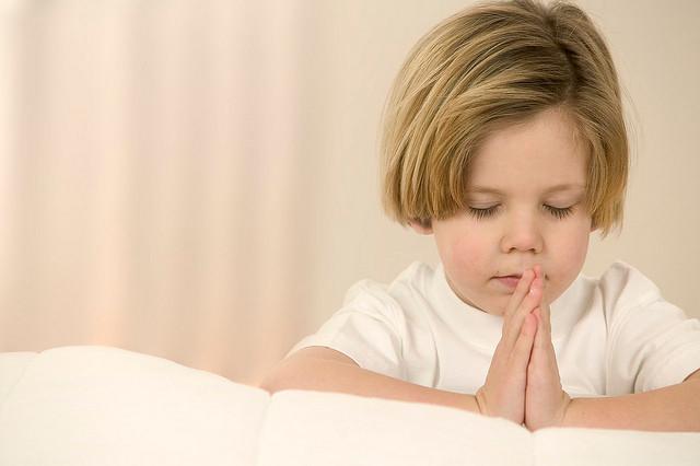 Pray at bedtime