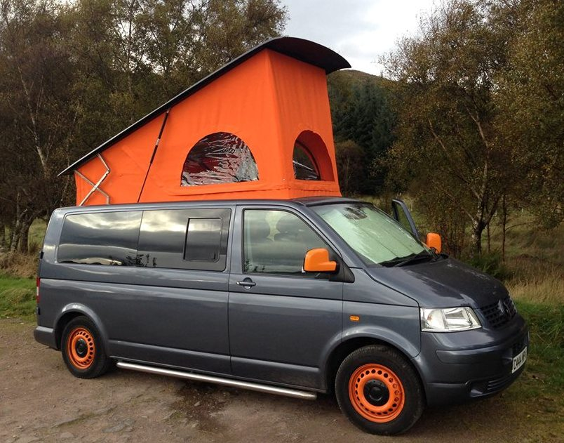 orange-and-grey-van