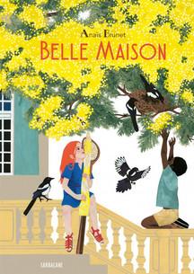 Un bel album, avec une maison pour narratrice et un corps noir dans sa quotidienneté.