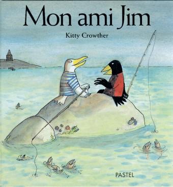 Une histoire d'amitié entre un merle noir et une mouette blanche.