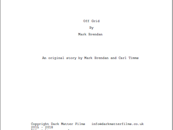 Developing Off Grid's Script