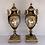 Thumbnail: Paire de vases en porcelaine de sevres