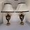 Thumbnail: Une paire de lampes en porcelaine de sevres .
