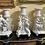 Thumbnail: Garniture de cheminée en biscuit de sevres