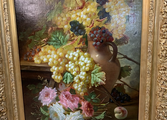 Huile sur toile 19ème siècle