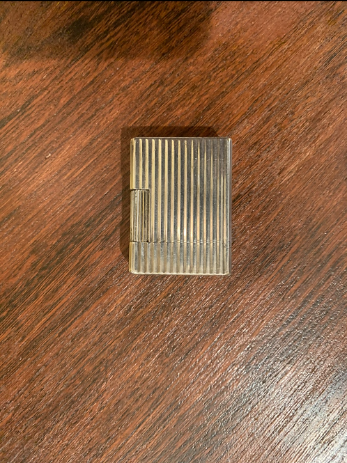 Briquet Dupont petit format argenté