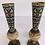 Thumbnail: Paire de vases en marbre et cloisonnée (2)