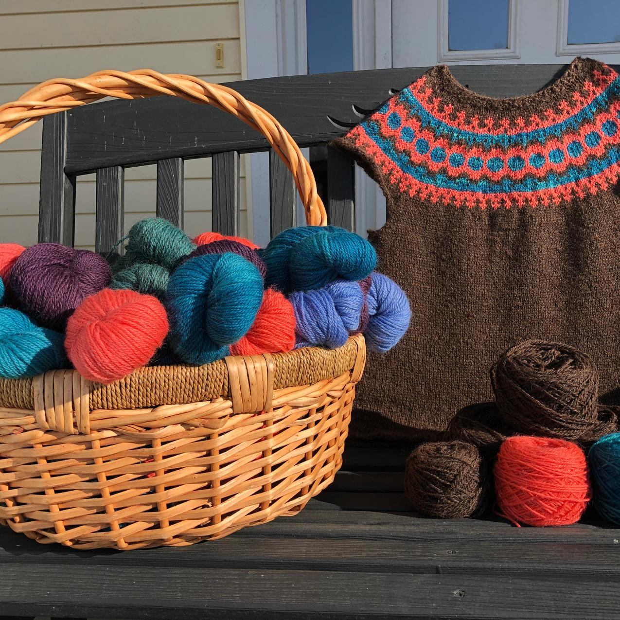 WindRidgeFarm Lett Lopi Vest & Wool