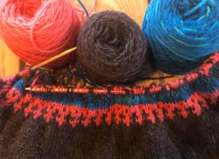 Knitting with Nancy - Lett Lopi Vest