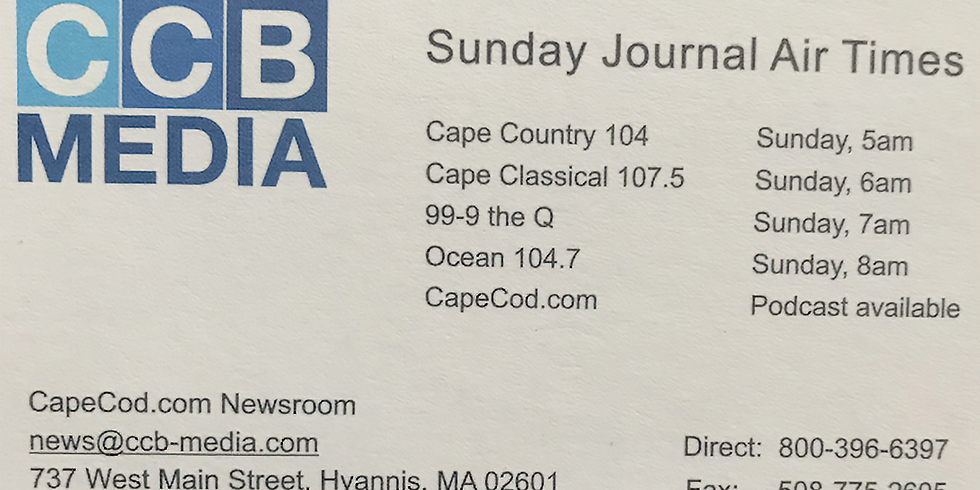 Listen to Goat Talk on Cape Cod Broadcasting