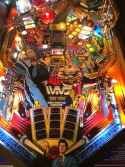 WWF Pinball Machine