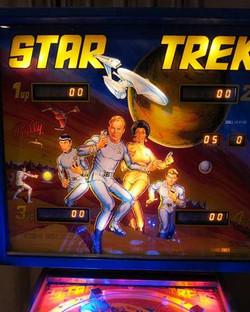 Star Trek Bally Pinball