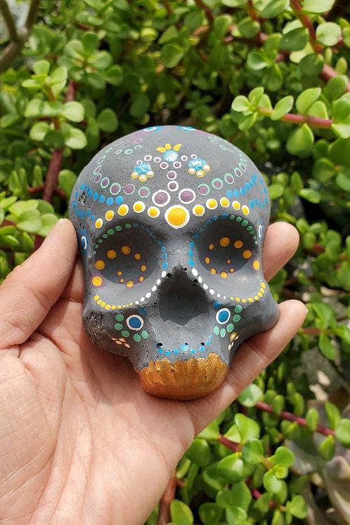 Mini Dot Skull