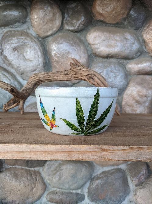 (#6) 360 Multi Color PotPot Shallow Bowl (small)